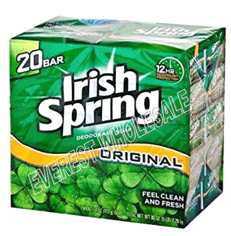 Irish Spring Bath Soap 4 Oz * Original * 20 Bars