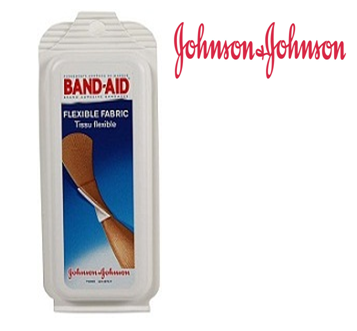 Johnson & Johnson Band Aid 5 ct / pck * 12 pcks