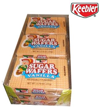 Keebler Sugar Waffers 2.75 oz * Vanilla * 12 pcs