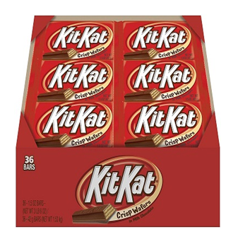Kit Kat Crisp Wafers Chocolate * 36 ct