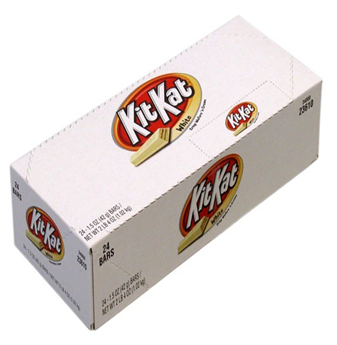 Kit Kat White Chocolate 24 ct