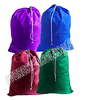 Laundry Bag Assorted Colors * 24 pcs