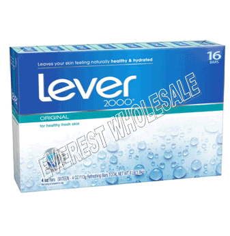 Lever 2000 Bath Soap 4.5 Oz * Original * 16 pcs / Pack
