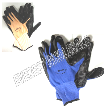 Working Glove Light Duty * Assorted Colors * 12 pcs