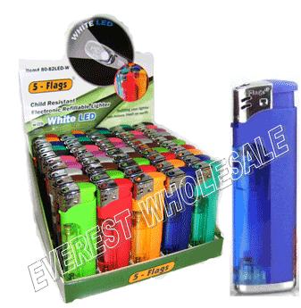 5 Flags Lighter & Flashlight 50 ct