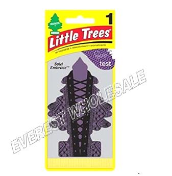 Little Trees Car Freshener * Bold Embrace * 1`s x 24 ct