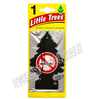 Little Trees Car Freshener * Crisp `n Cool * 1`s x 24 ct