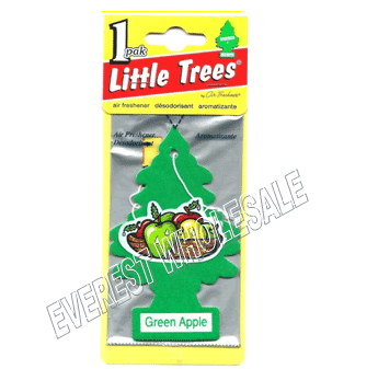 Little Trees Car Freshener * Green Apple * 1`s x 24 ct