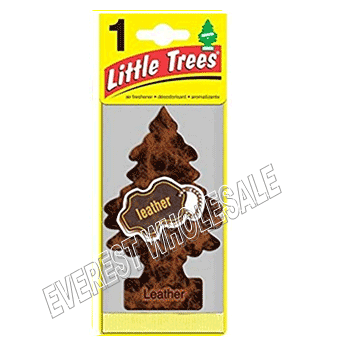 Little Trees Car Freshener * Leather * 1`s x 24 ct