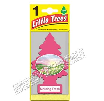 Little Trees Car Freshener * Morning Fresh * 1`s x 24 ct