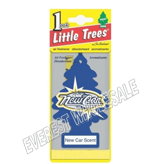 Little Trees Car Freshener * New Car Scent * 1`s x 24 ct