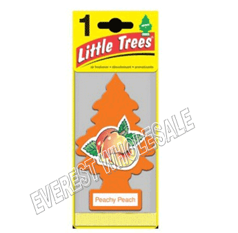 Little Trees Car Freshener * Peachy Peach * 1`s x 24 ct
