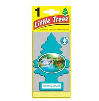 Little Trees Car Freshener * Rainforest Mist * 1`s x 24 ct