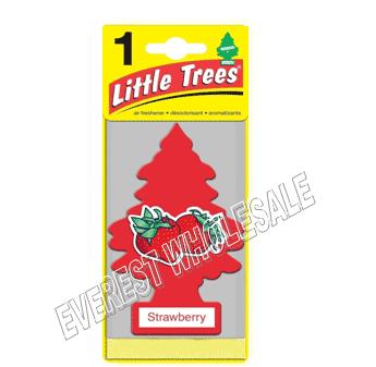 Little Trees Car Freshener * Strawberry * 1`s x 24 ct