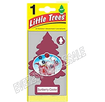 Little Trees Car Freshener * Sunberry Cooler * 1`s x 24 ct