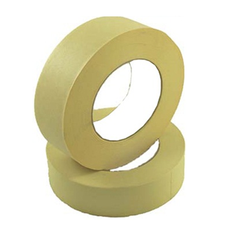 Masking Tape 2 inch x 60 yrds * Beige Color * 6 pcs