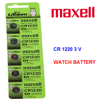Maxell Watch Battery CR 1220 3V * 5 pcs / pack