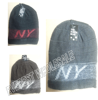 Winter Hat Polar Fleece * Assorted Colors * 6 pcs