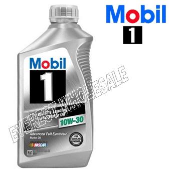 Mobil 1 Full Synthetic Motor Oil 1 Qt * 10W-30 * 6 pcs