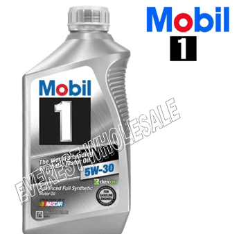 Mobil 1 Full Synthetic Motor Oil 1 Qt * 5W-30 * 6 pcs