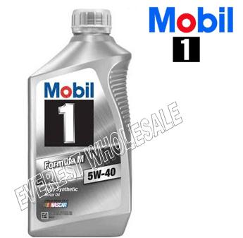 Mobil 1 Full Synthetic Motor Oil 1 Qt * 5W-40 * 6 pcs