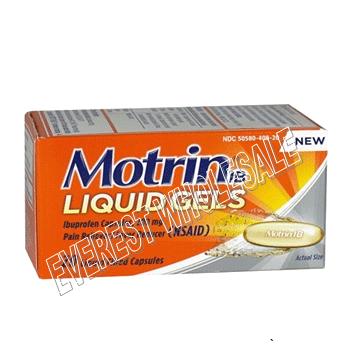 Motrin Liqui Gel Caplets 20 ct * 6 pcs
