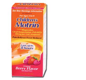 Motrin Children`s 4 fl oz / Box * 6 Boxes