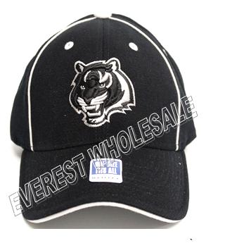 NFL Cincinnati Bengals Black Cap Hat * 3 pcs `