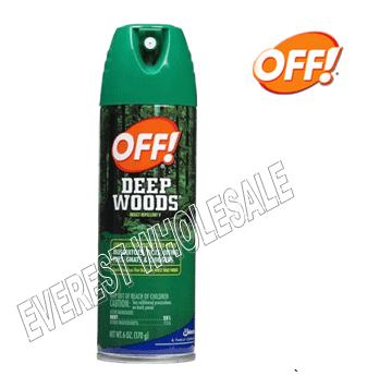 OFF Spray 6 fl oz * Deep Woods * 6 pcs