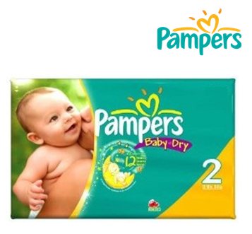 Pampers Baby Diapers ** No. 2 ** 24 ct x 4 pks