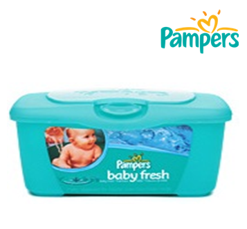 Pampers Baby Wipes * Baby Fresh * 72 ct * 8 pcs