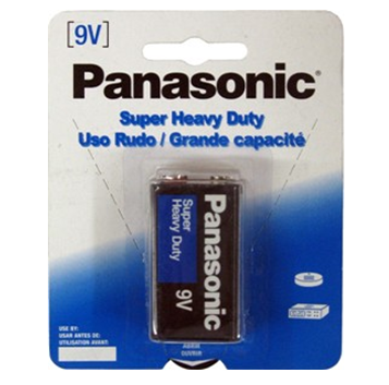 Panasonic Battery 9V * 12 pck