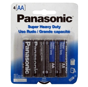 Panasonic Battery AA 4 / pck * 12 pck