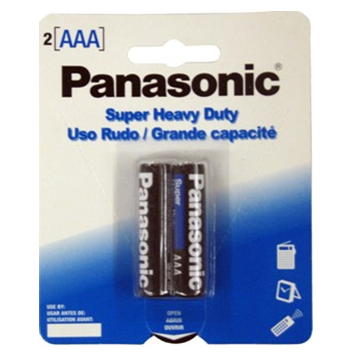 Panasonic Battery AAA 2 / pck * 12 pck