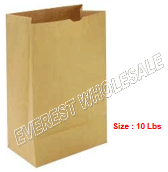 Kraft Paper Bag * # 10 * 500 ct pack
