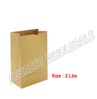 Kraft Paper Bag * # 2 * 500 ct pack