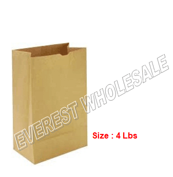 Kraft Paper Bag * # 4 * 500 ct pack
