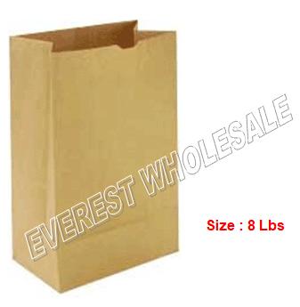Kraft Paper Bag * # 8 * 500 ct pack