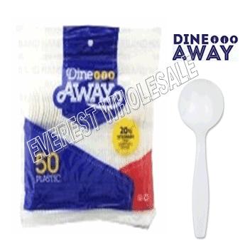 Plastic Light Duty FDA Approved * Spoon * Bulk 1000 ct