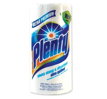 Plenty Paper Towel 15 Rolls / Pack