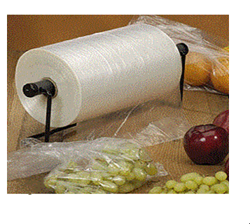 Clear Poly Plastic 12 x 20 Produce Bag 4 Rolls / Case