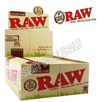 Raw Cigarette Paper Classic Hemp King Size Slim 50 ct