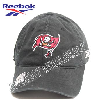 Reebok Tampa Bay NFL Buccaners Black Hat Cap * 3 pcs