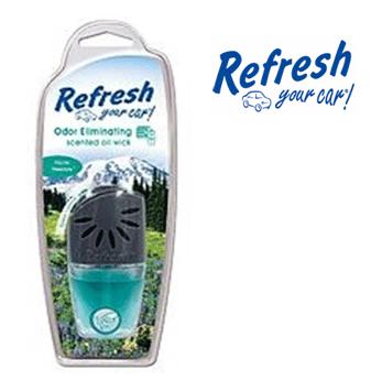 Refresh Scented Oil Wick * Spring Fresh Air * 0.24 fl oz ( 7 ml ) / 4 pcs