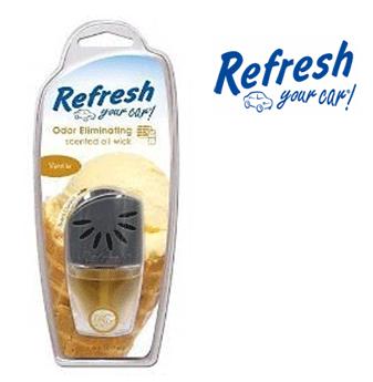 Refresh Scented Oil Wick * Vanilla * 0.24 fl oz ( 7 ml ) / 4 pcs
