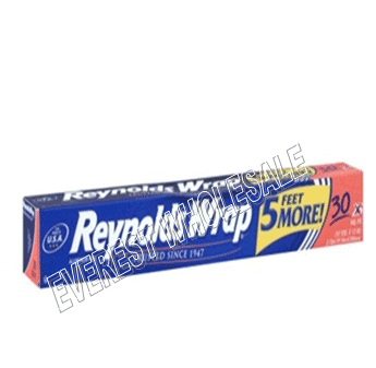 Reynolds Aluminum Foil 30 SQ FT * 35 pcs / Case