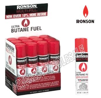 Ronson Lighter Butane 42 g * 12 pcs