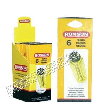 Ronson Lighter Flints Display 6 ct * 12 pks