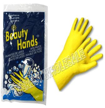 Rubber Dishwashing Gloves * Size : L * 12 pcs