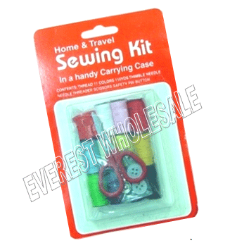 Sewing Kit Home & Travel * 12 pcs